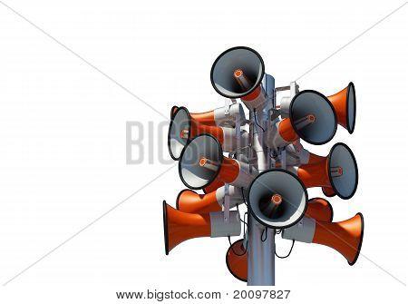 sixteen loudspeaker