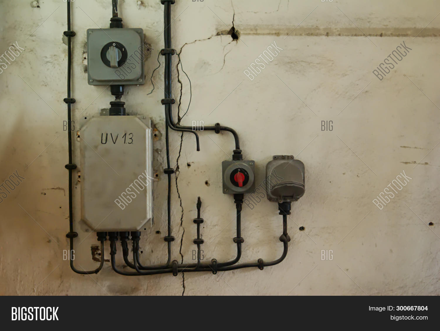 old industrial image \u0026 photo (free trial) bigstock Plug Fuse Box Cover Unit