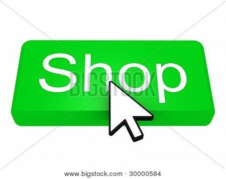 Shop Button With Cursor