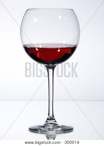 Glass Red Wine