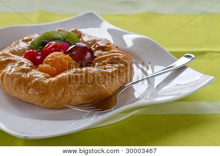 Dessert fruit tart