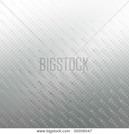 Silver patterned background