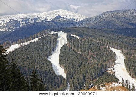 Bukovel Ski Resort, Carpathians, Ukraine
