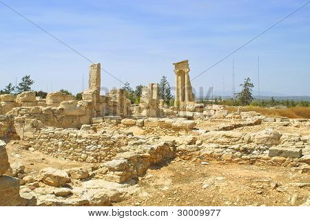 Sanctuary Of Apollo Hylates, Cyprus