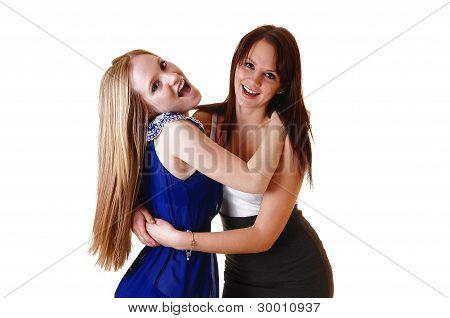 Girls Having Fun.