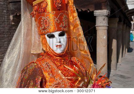 Mask in Venice