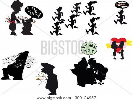 Figures Black Comics Sympathetic Figures Figures Black Comics Sympathetic Figures