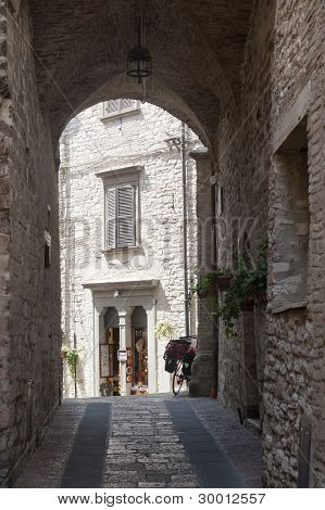 Assisi, Old Street
