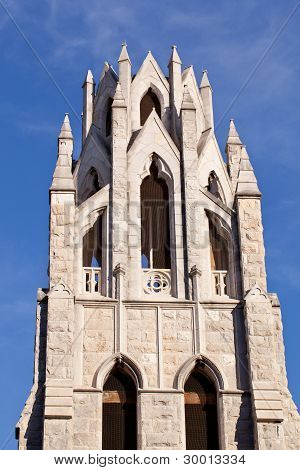 Tower Of St Augustine Church In Washington