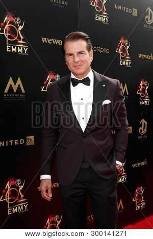 PASADENA - May 5: Vincent De Paul at the 46th Daytime Emmy Awards Gala at the Pasadena Civic Center on May 5, 2019 in Pasadena, California