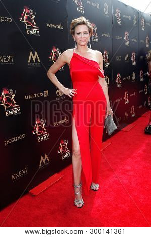 PASADENA - May 5: Arianne Zucker at the 46th Daytime Emmy Awards Gala at the Pasadena Civic Center on May 5, 2019 in Pasadena, California