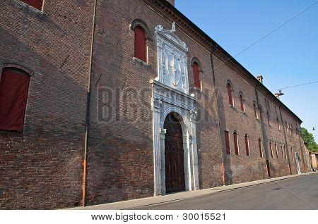 Schifanoia Palace. Ferrara. Emilia-Romagna. Italy.