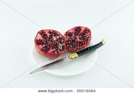 Pomegranate To Cut.