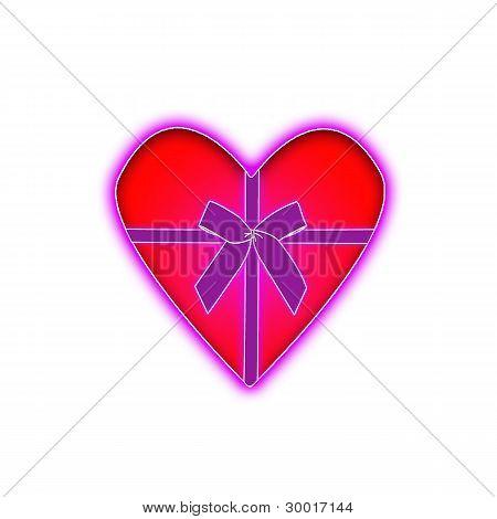 riibon heart