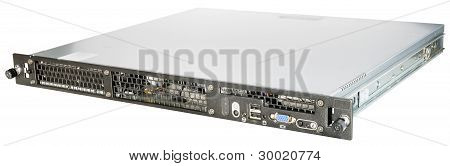 Rackmount Server Over White