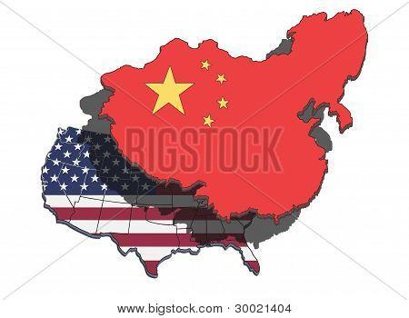 China Overshadowing Usa