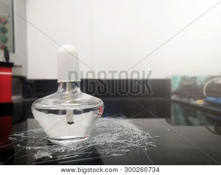 Alcohol Burner In In-vitro Fertilization Laboratory.laboratory Equipment.