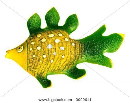Colored Ceramic Fish.