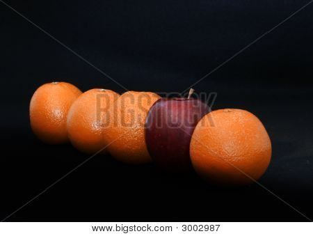 Different- Oranges And Apple