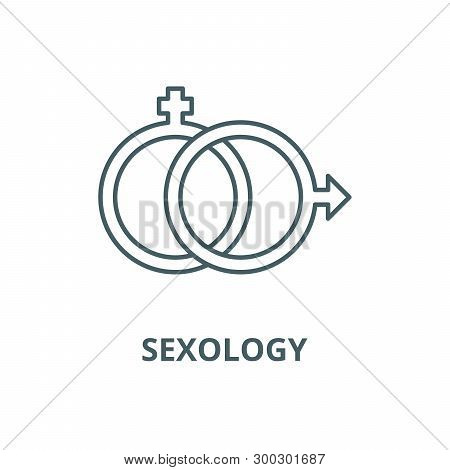 Sexology Vector Line Icon, Linear Concept, Outline Sign, Symbol