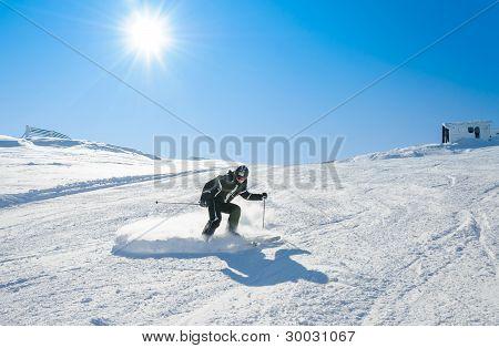Drifting on snow