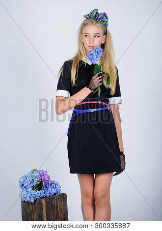 Formal Uniform Elite School College Or Housemaid. Vintage And Retro Style. Vintage Model. Elegance I