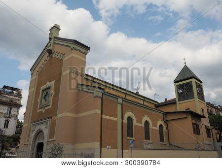 Santa Agnese Vergine Martire (meaning St Agnes Virgin Martyr) Church In Turin, Italy