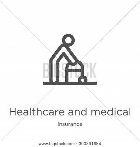 Healthcare And Medical Icon Isolated On White Background From Insurance Collection. Healthcare And M