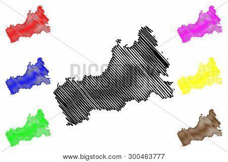 Cherkasy Oblast (administrative Divisions Of Ukraine, Oblasts Of Ukraine) Map Vector Illustration, S