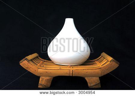 Vase On Bench