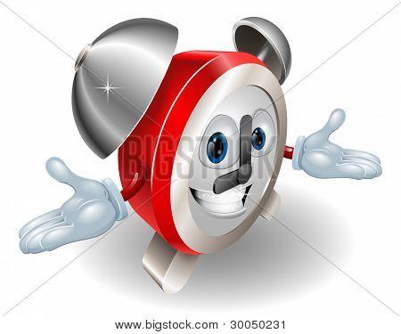 Alarm Clock Character Illustration