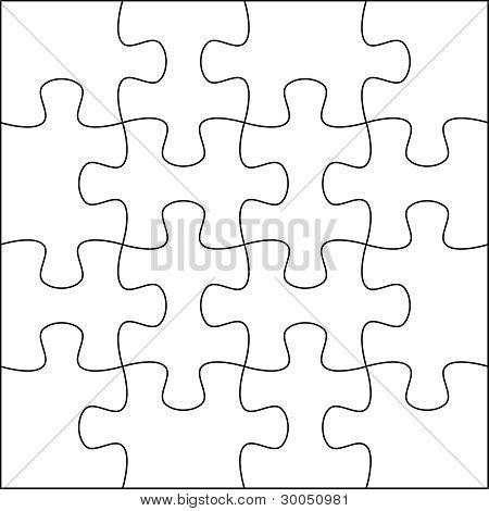 Puzzle background 4x4