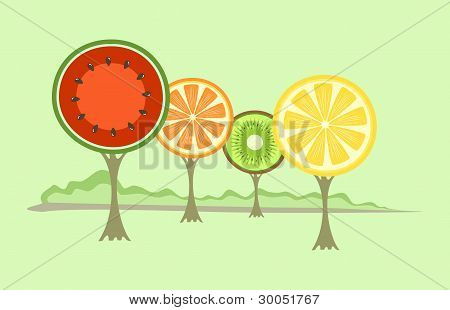 Fruit-like Trees