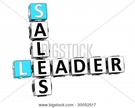 3D Leader Sales Crossword