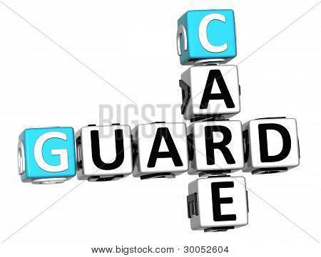 3D Guard Care Crossword
