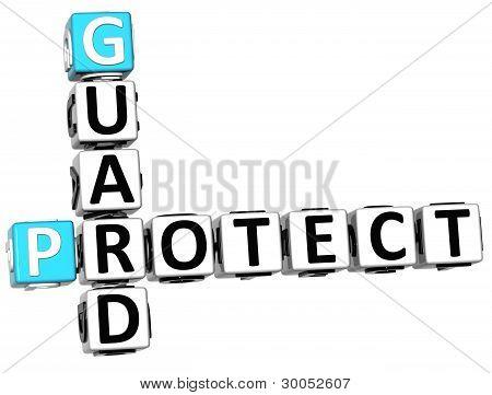 3D Protect Guard Crossword