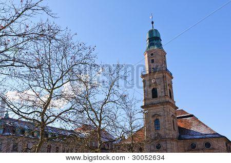 Erlangen, Germany in Winter