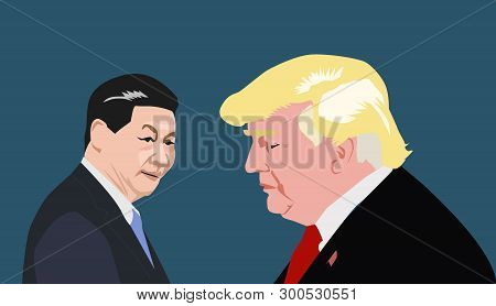 May, 2019: Us President Donald Trump Raised Tariffs On Chinese Goods. China Says It Will Hit Back