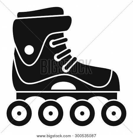 Freestyle Inline Skates Icon. Simple Illustration Of Freestyle Inline Skates Icon For Web Design Iso