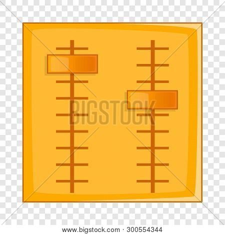 Sliders Icon. Cartoon Illustration Of Sliders Vector Icon For Web Design