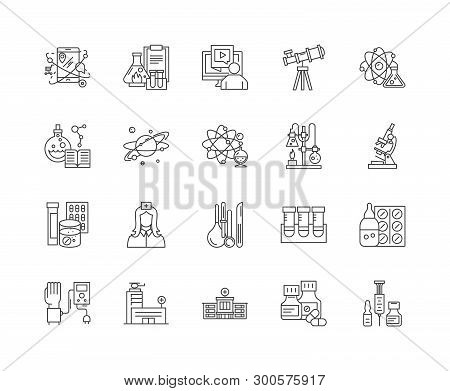 Expertise Line Icons, Signs, Vector Set, Outline Illustration Concept