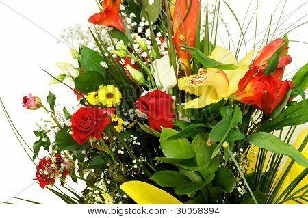 Celebratory Bouquet Of Various Flowers