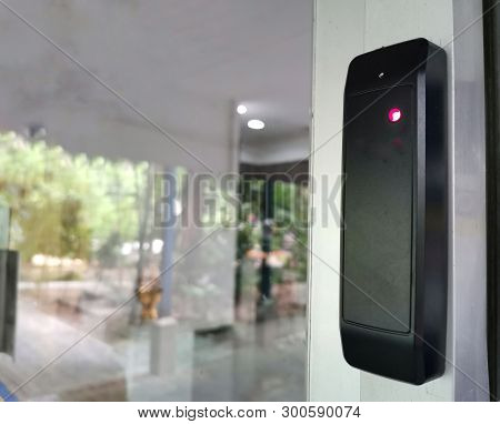The Security Of Reader Tag Mifare Or Rfid Card Security Of Access Control Install For Door And Gate