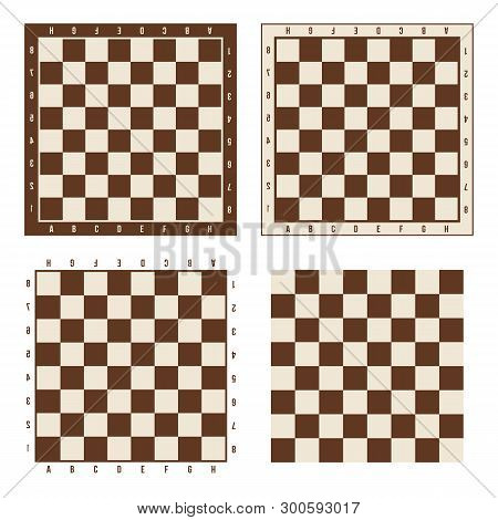 Creative Vector Illustration Of Chess Board Set Isolated On Transparent Background. Art Design Check
