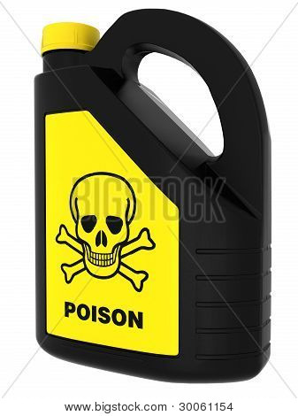 Toxic! Poison can
