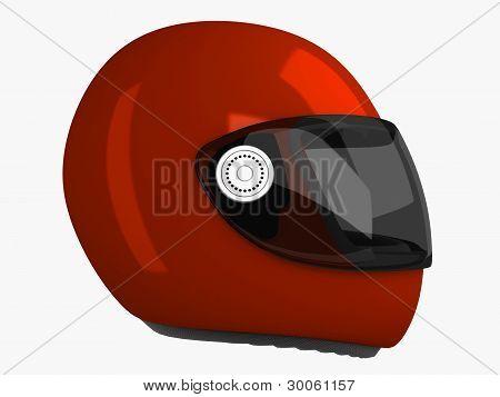 Moto Helmet . 3D