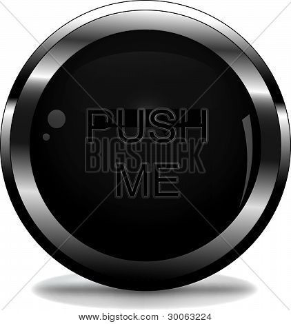vector button with the words