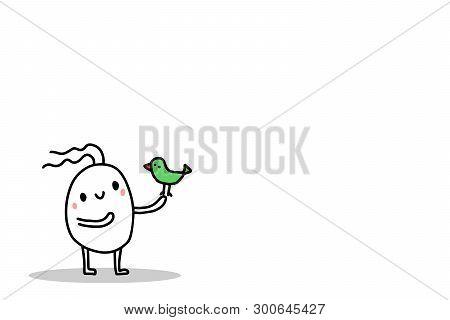 Cute Cartoon Man Vector Photo Free Trial Bigstock