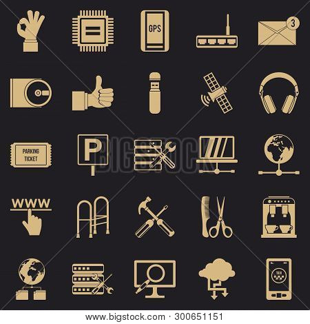 Sustenance Icons Set. Simple Set Of 25 Sustenance Vector Icons For Web For Any Design