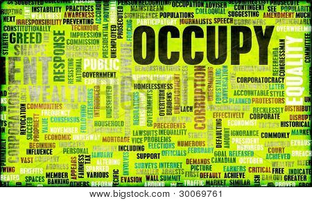 Occupy Movement Around the World as Concept